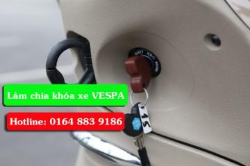 Sửa khóa xe VESPA – Làm lại chìa khóa dòng xe PIAGGIO